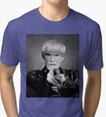 TIMOTHY LEARY - LAST PHOTO SHOOT Tri-blend T-Shirt