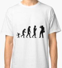 Photographer and the evolution Classic T-Shirt