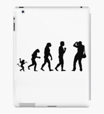 Photographer and the evolution iPad Case/Skin