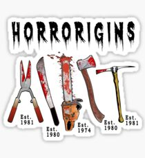 Horrorigins Sticker