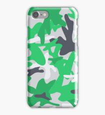 Camouflage military background. Seamless abstract pattern. iPhone Case/Skin