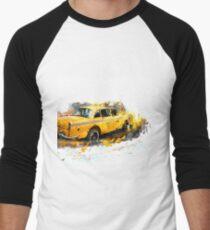 Taxi Men's Baseball ¾ T-Shirt
