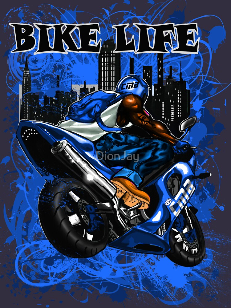 BIKE LIFE(PHAT BACK) BLUE by DionJay