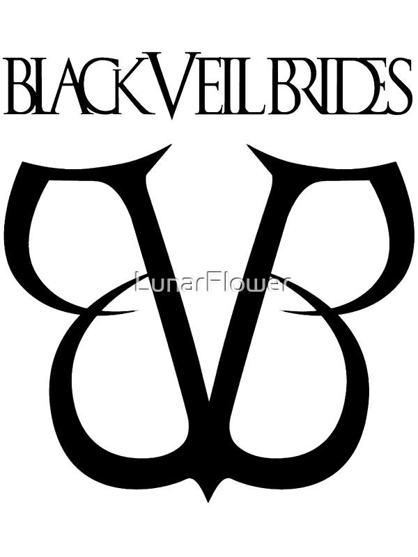 Quot Black Veil Brides Logo Quot Stickers By Fern C Redbubble