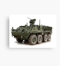 military vehicle Canvas Print