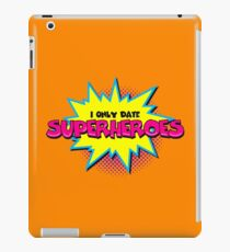 Superhero comic funny quote iPad Case/Skin