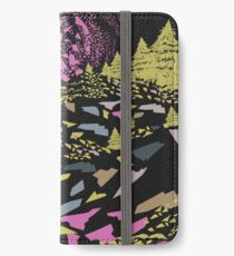 Trippy hills colorful iPhone Wallet/Case/Skin