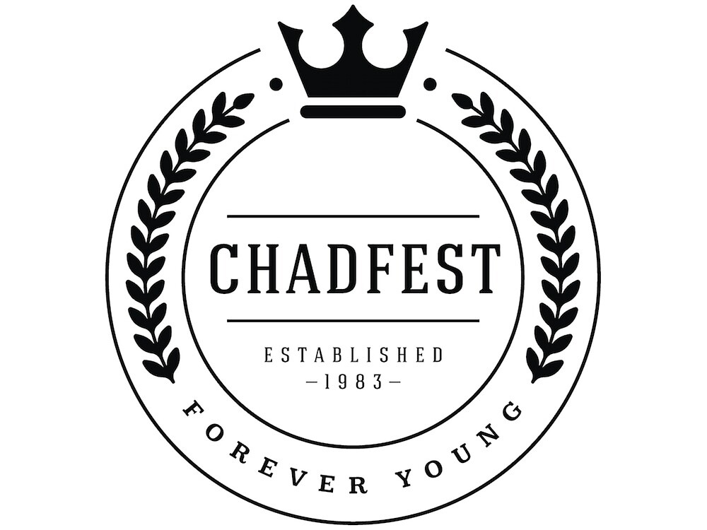 The Chadfest Classic - Black print by Chadfest