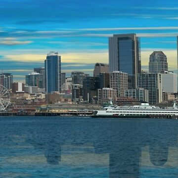 Seattle Washington Skyline by oz10
