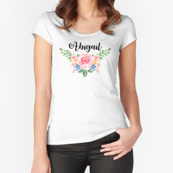 Abigail Fitted Scoop T-Shirt