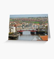 Harbour View, Whitby Greeting Card