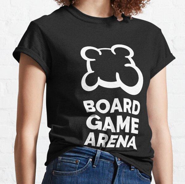 BGA white logo T-shirt classique