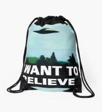 X FILES Drawstring Bag