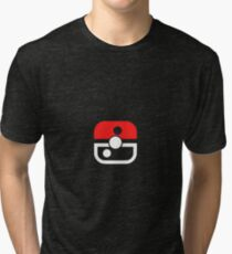 Switch Inspired Pokeball Tri-blend T-Shirt