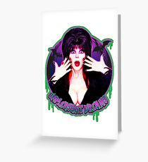 Mistress of the dark Greeting Card