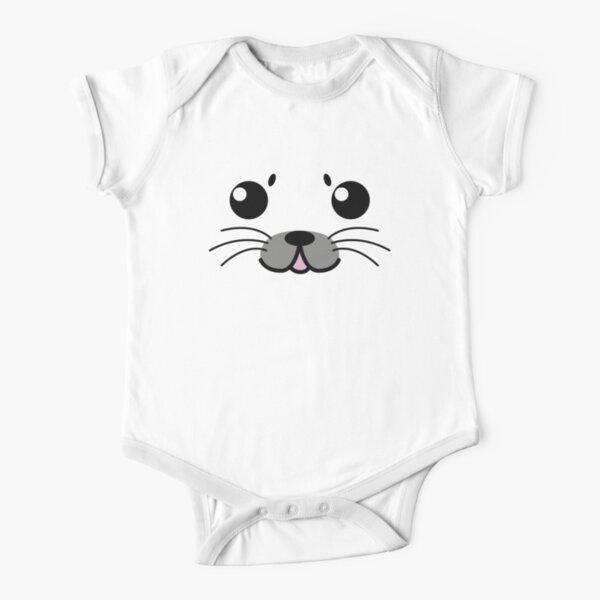 Foca bebé (Baby Seal) Body de manga corta para bebé