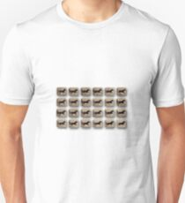 After – Eadweard Muybridge – 1830-1904 – Locomotion Theory – Horse and Cart – White T-Shirt