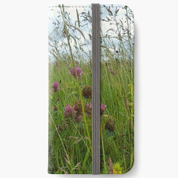Wildflower meadow iPhone Wallet