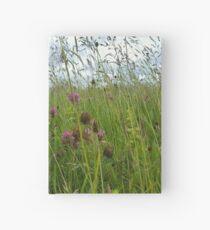 Wildflower meadow Hardcover Journal