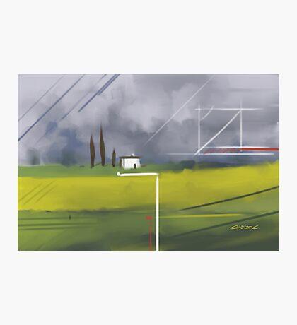 Geometrical Landscape I Photographic Print