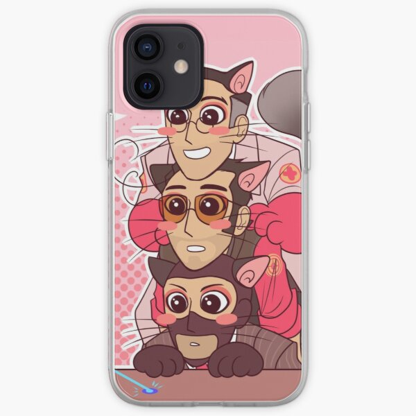 TF2 Support Kitty Sandwich iPhone Soft Case