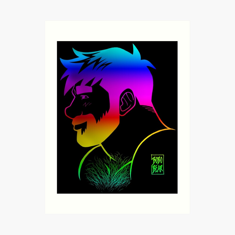 ADAM LIKES RAINBOWS - GAY PRIDE Art Print