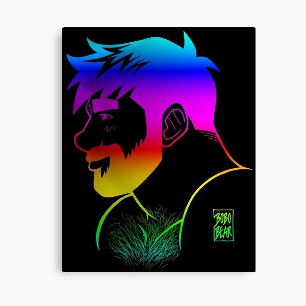 ADAM LIKES RAINBOWS - GAY PRIDE Canvas Print