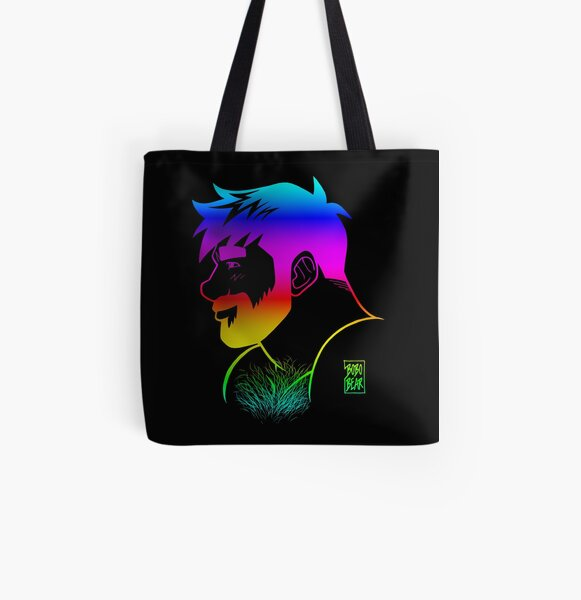 ADAM LIKES RAINBOWS - GAY PRIDE All Over Print Tote Bag