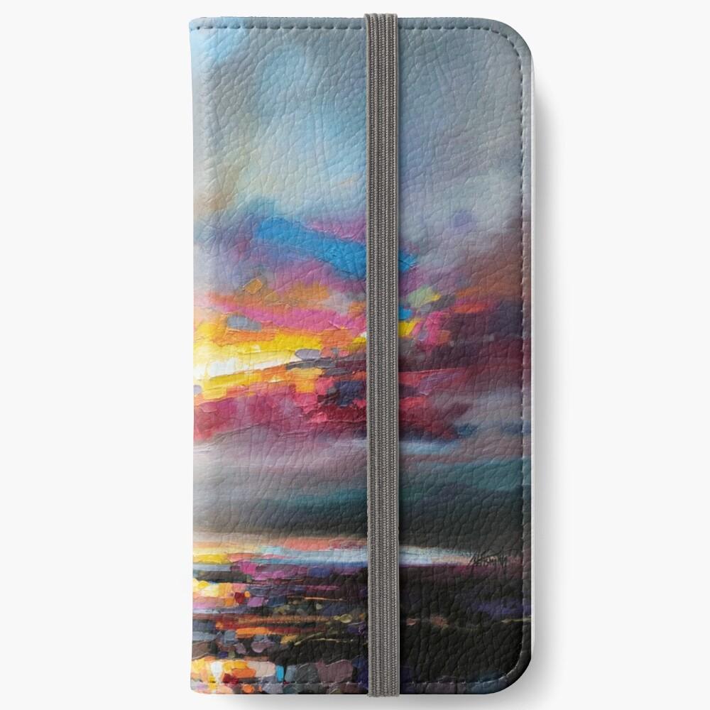Primary Sky iPhone Wallet