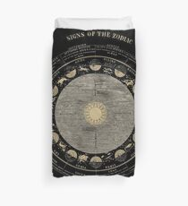 Smith's Illustrated Astronomy - Signs of the Zodiac - Page 18 Duvet Cover