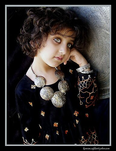 Pakistan girl by kamisyed
