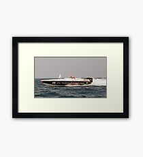 And In First Place....... Framed Print