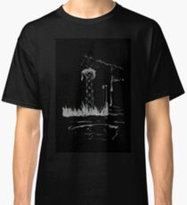 Brush and Ink - 0165 - Cat Tower Classic T-Shirt