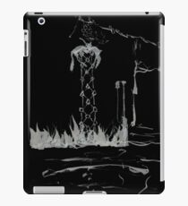 Brush and Ink - 0165 - Cat Tower iPad Case/Skin
