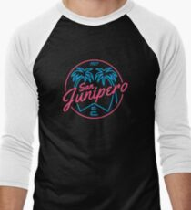 San Junipero Men's Baseball ¾ T-Shirt