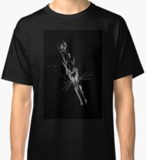 Brush and Ink - 0164 - Chilly Night Fox Classic T-Shirt