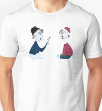 Cute Dogs - PAINTED Unisex T-Shirt
