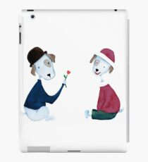 Cute Dogs - PAINTED iPad Case/Skin