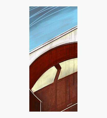Sun on concrete arc I Photographic Print