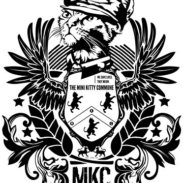 The Mini Kitty Commune Crest by MiniKitty