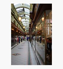 Belfast Arcade Photographic Print