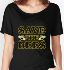 Save the Bees - black Women's Relaxed Fit T-Shirt