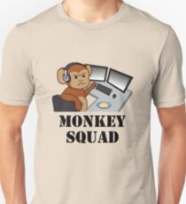 Monkey Squad (black text) T-Shirt