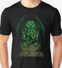 Cthulhu - Lovecraft - Monster Slim Fit T-Shirt
