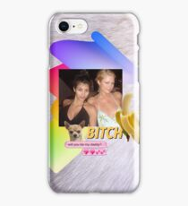 BFF Paris and Kim: B!tch, will you be my daddy? iPhone Case/Skin