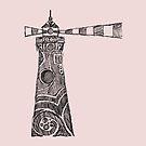 Leuchtturm Skizze von Hinterlund
