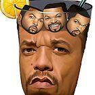 Ice T & Ice Cube by riyapennington