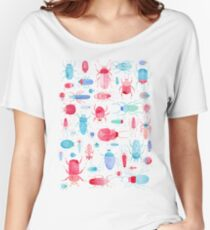 Watercolor Beetles Women's Relaxed Fit T-Shirt