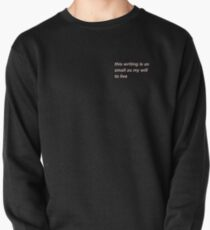edgy memes for edgy teens (pink) Pullover