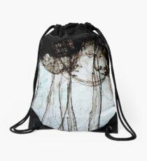 Black Clouds Drawstring Bag